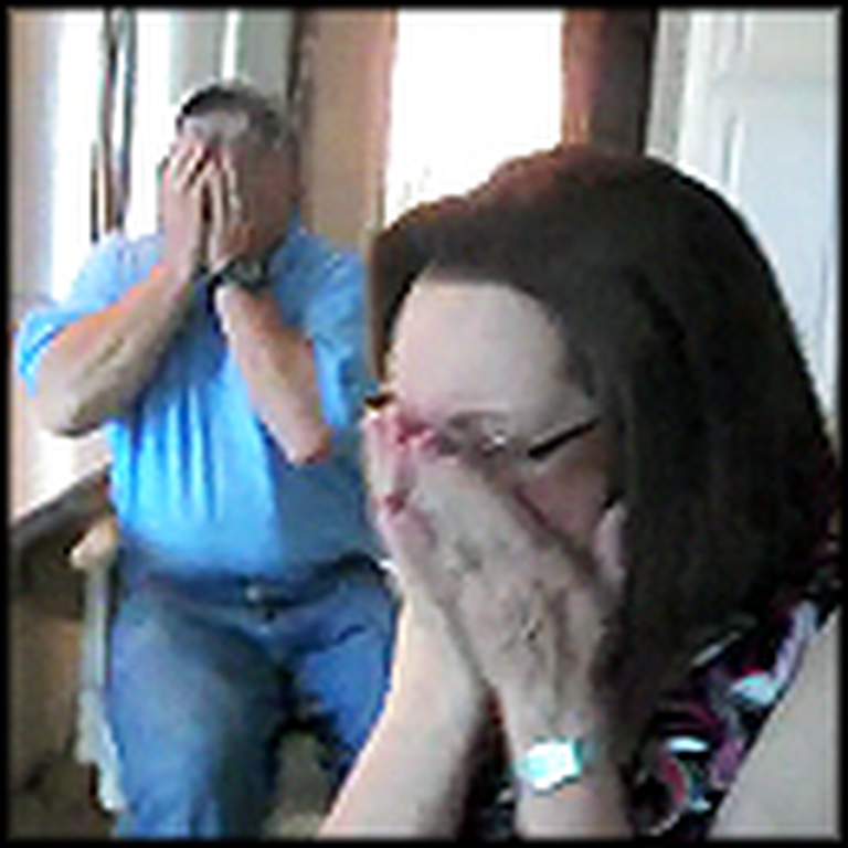 Mom and Dad's Priceless Reaction to their Daughter's Pregnancy - This is Great