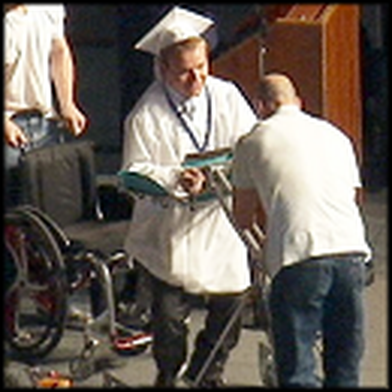 Paralyzed Teen Does the Unimaginable at his Graduation