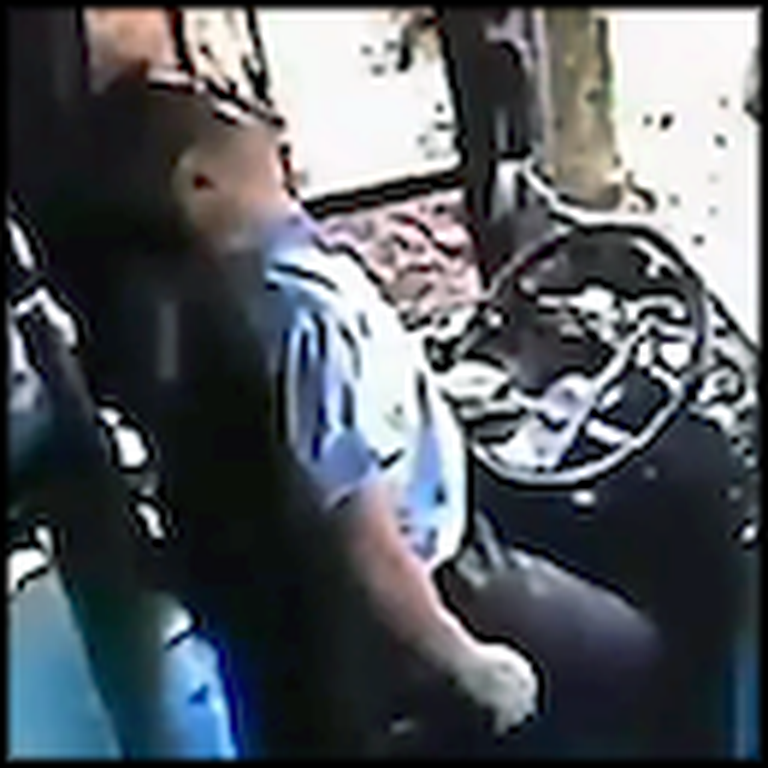 Bus Driver Spends His Last Moments on Earth Saving Lives