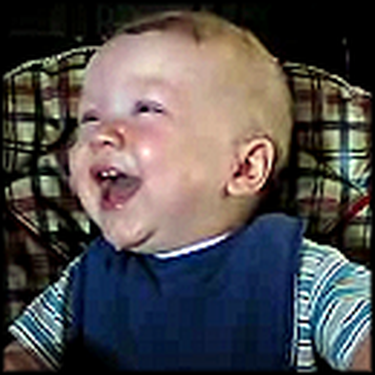 This Baby's Laugh Will Put a Big Smile on Your Face