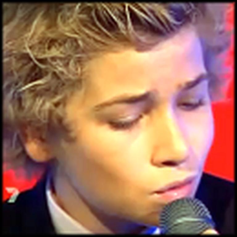 12 Year Old Sings Breathtaking Version of Hallelujah on TV