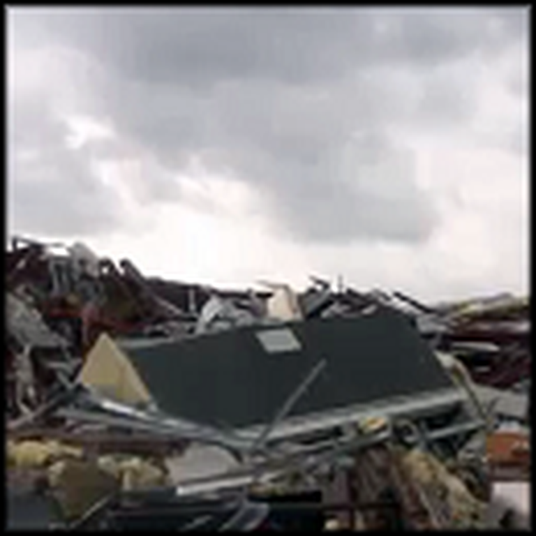 Little Girl Sees an Angel Save Her Family in a Tornado