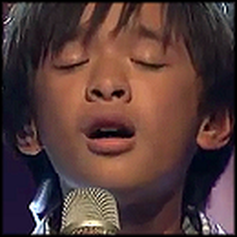 Unlikely Boy Steps on Stage and Beautifully Sings Hallelujah