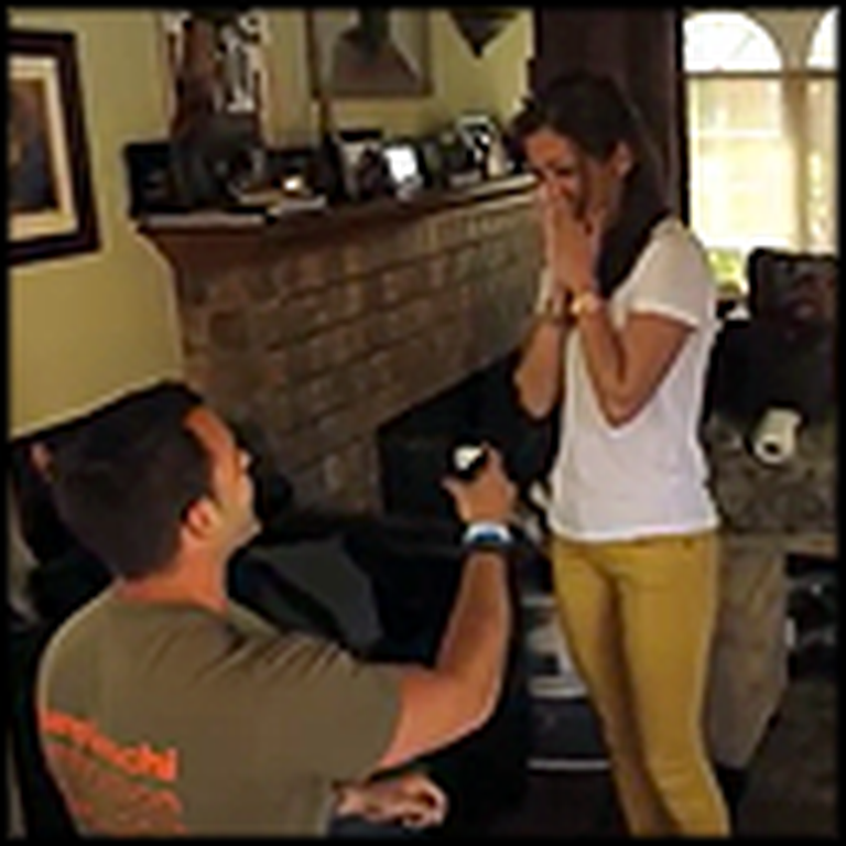 HGTV Show Host Proposes While Filming an Episode