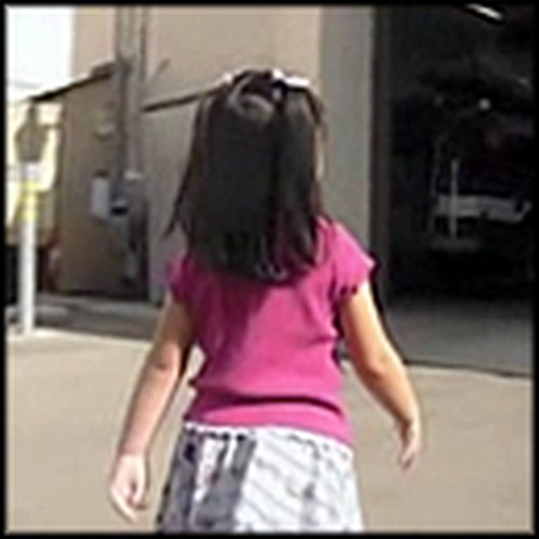 Toddler Walks 2 Blocks to Save Her Dad's Life