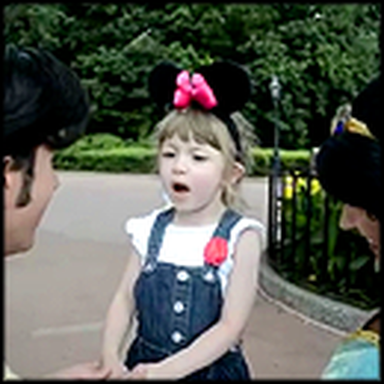 A Little Girl's Dream Comes True at Disneyworld
