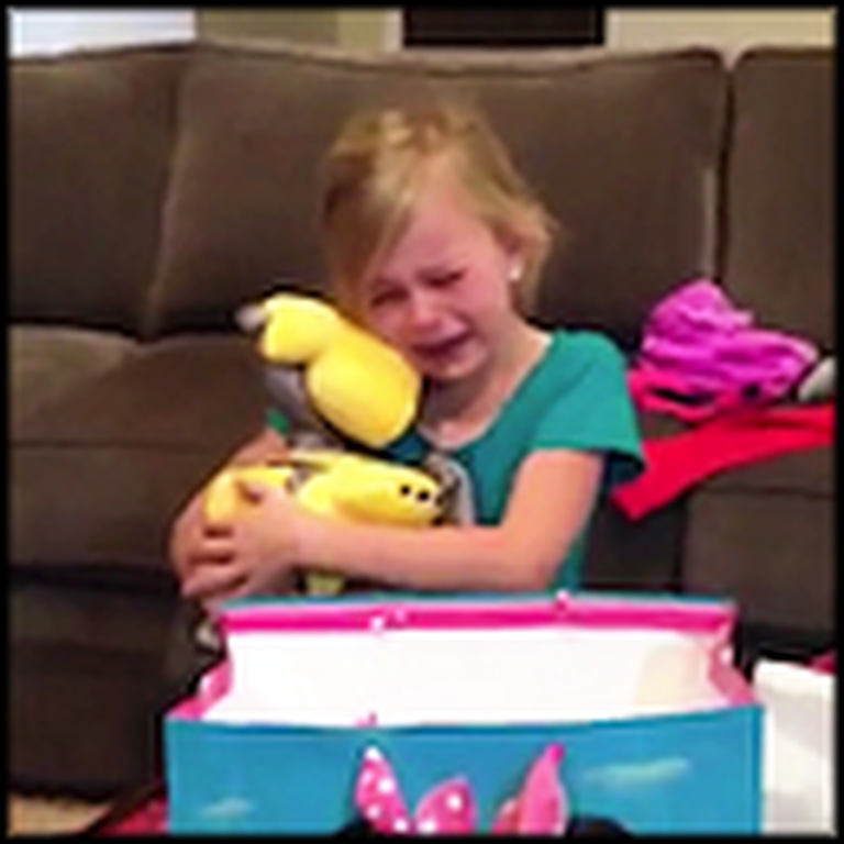 Little Girl Has the Most ADORABLE Reaction to a Birthday Gift