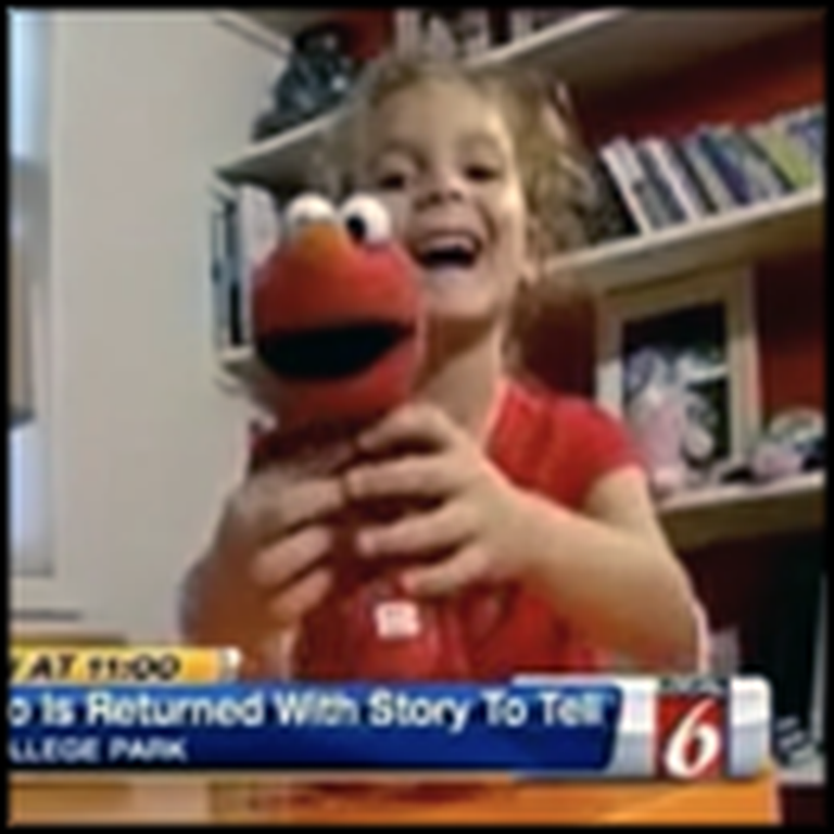 Little Girl Loses Her Favorite Toy - But Somehow Gets It Back