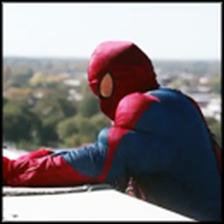 Kids Battling Cancer Get a Surprise - From Some Superheroes