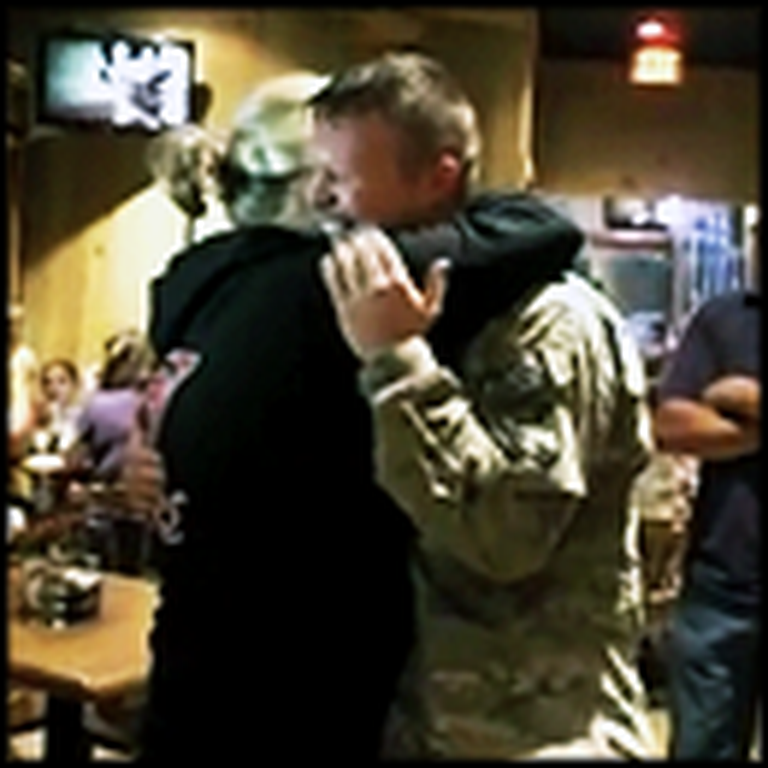 Surprise Visit from a Soldier Father - and His Family's Reaction