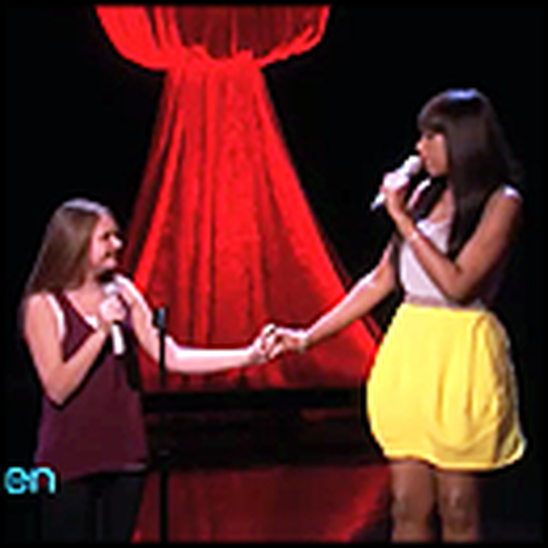 11 Year-Old Singing Prodigy Performs Amazing Duet With Her Hero Jennifer Hudson