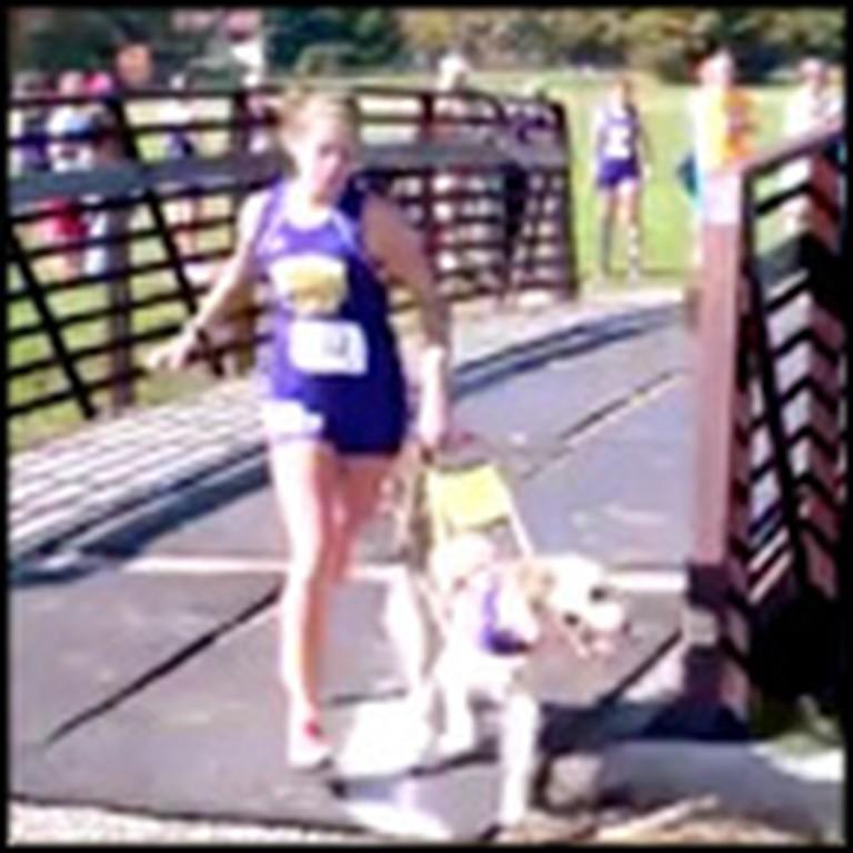 Blind Teen and Guide Dog do Something Amazing Together