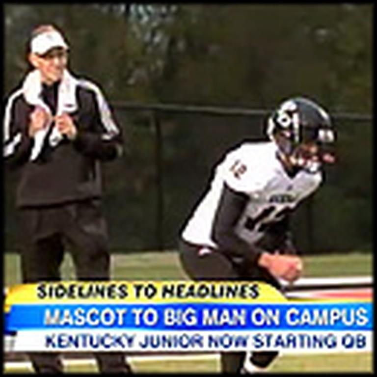 High School Mascot to Star Quarterback - an Amazing Underdog Story