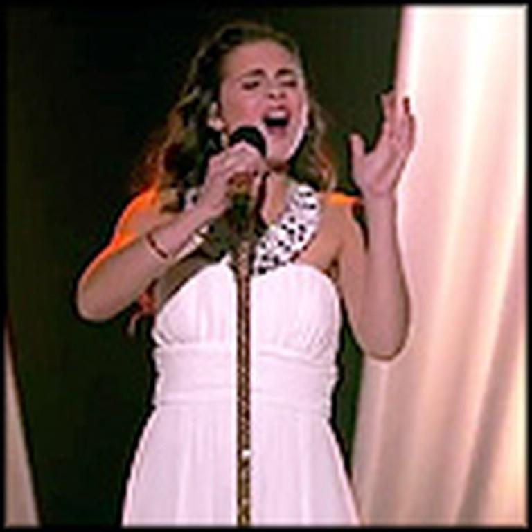 Mind Blowing Version of Hallelujah Performed by Carly Rose