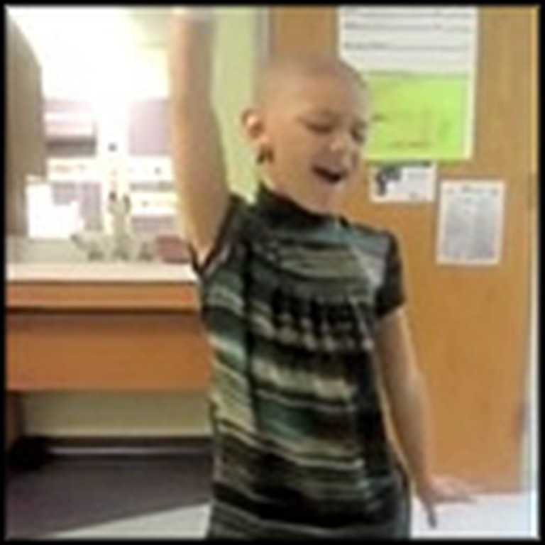 Brave 7 Year-Old Dances Through Difficulties of Cancer