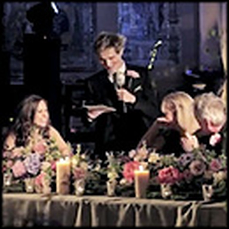 Charming Groom Makes an Unforgettable Wedding Speech
