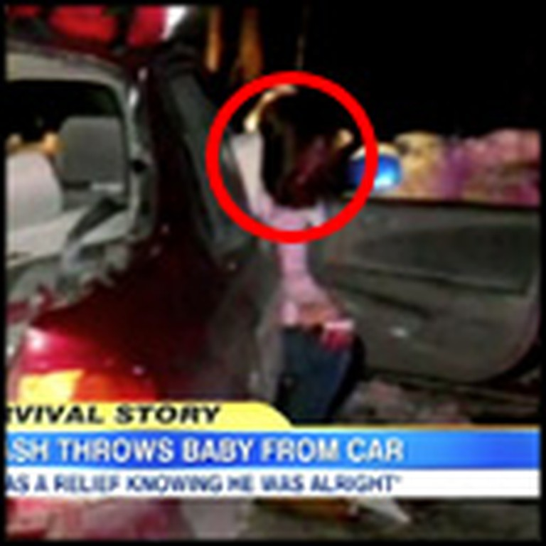 God Miraculously Saves a Baby Thrown 25 Feet From a Car