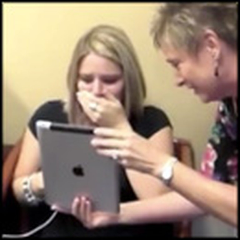 Woman Hears Her Family's Voices for the Very First Time