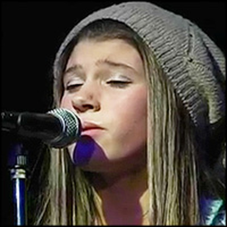 12 Year-Old Writes & Performs Moving Song For Her Mom Battling Cancer