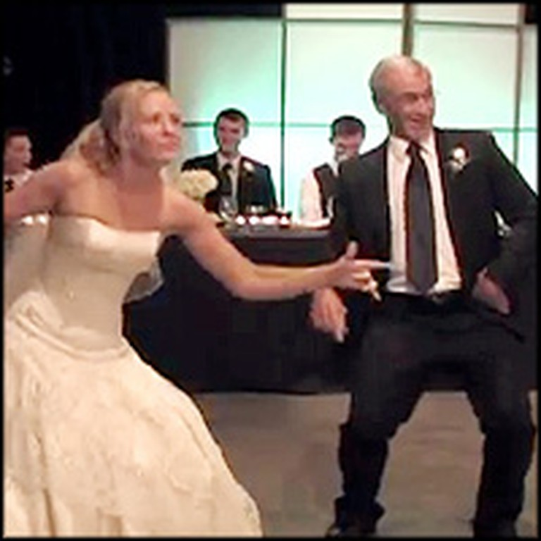 Father and Bride Will Make You Smile With their Silly ...