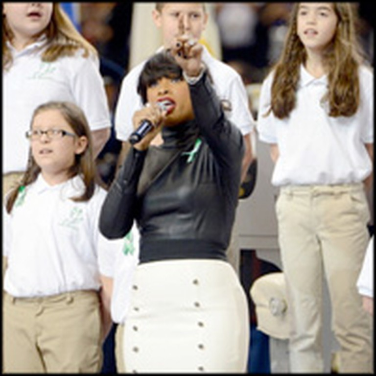 Sandy Hook Survivors and Jennifer Hudson Give Super Bowl Peformance