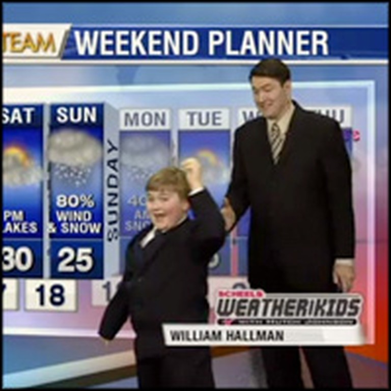 Weatherman's Adorable Child Guest Steals the Show