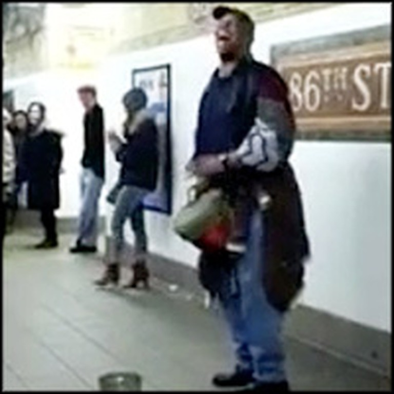 Talented Subway Singer Delights Travelers With an Adele Song