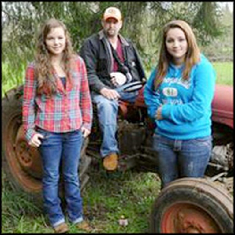 2 Teen Girls Miraculously Lift a 3,000 LB Tractor to Save Their Father's LIfe