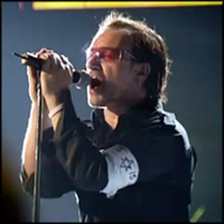 U2 Lifts Praises to God at a Concert by Performing Yahweh