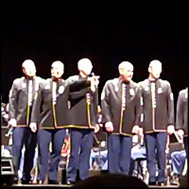 U.S. Soldiers Sing a Tear-Jerking Version of Proud to Be An American