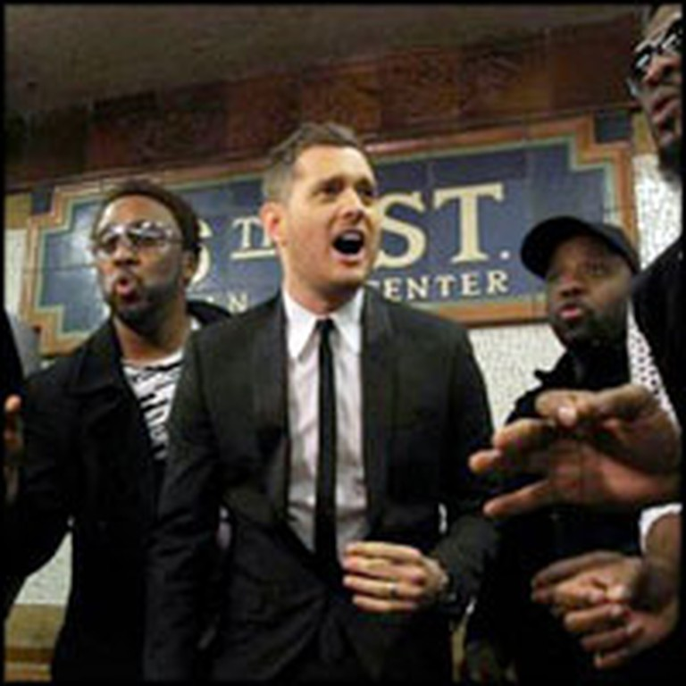 Michael Bublé Surprises NYC Subway Travelers With Something Awesome