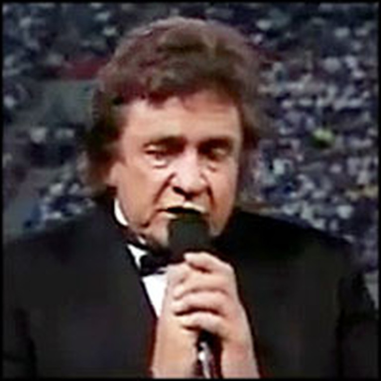 Classic Performance of The Old Rugged Cross by Johnny Cash & June Carter