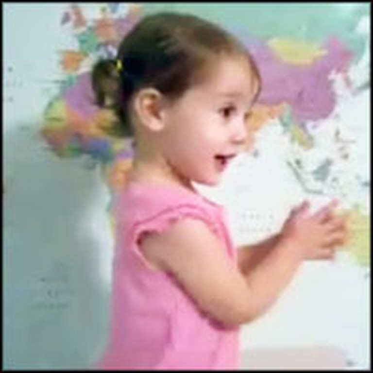 Smart Baby is an Awesome Geography Whiz