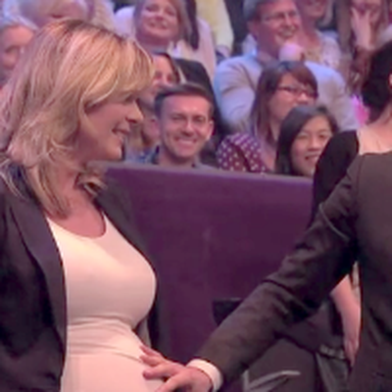 Michael Bublé Sings to Baby in Belly