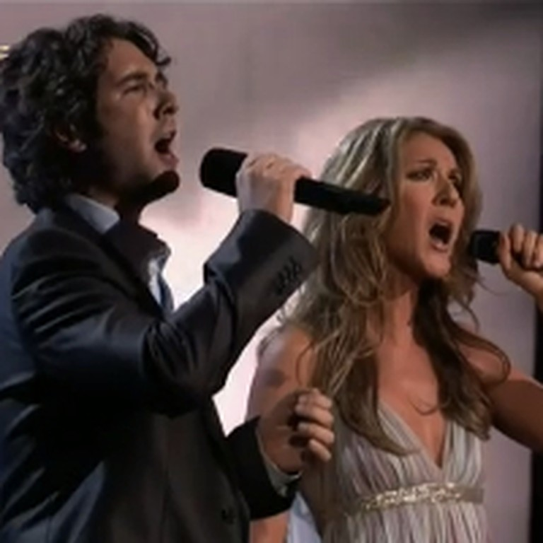 Josh Groban and Celine Dion Sing The Prayer