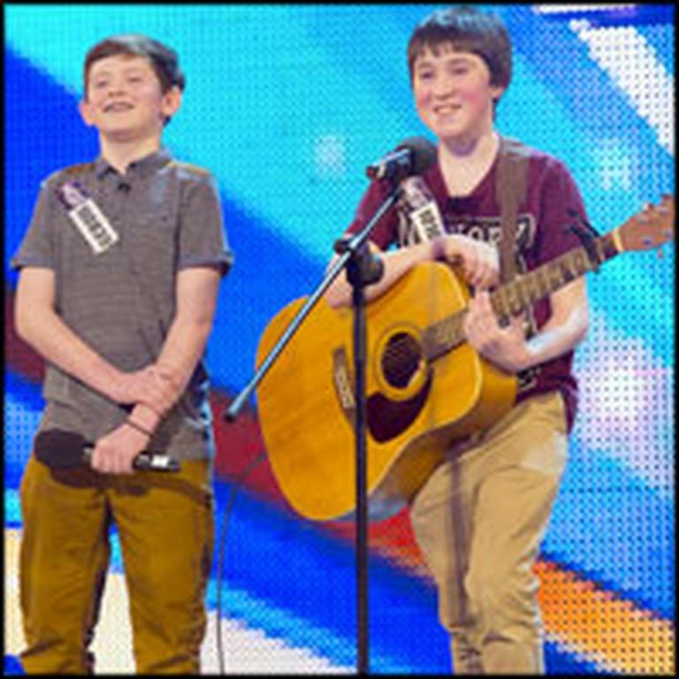 Darling Schoolboy Best Friends Sing an Impressive Duet
