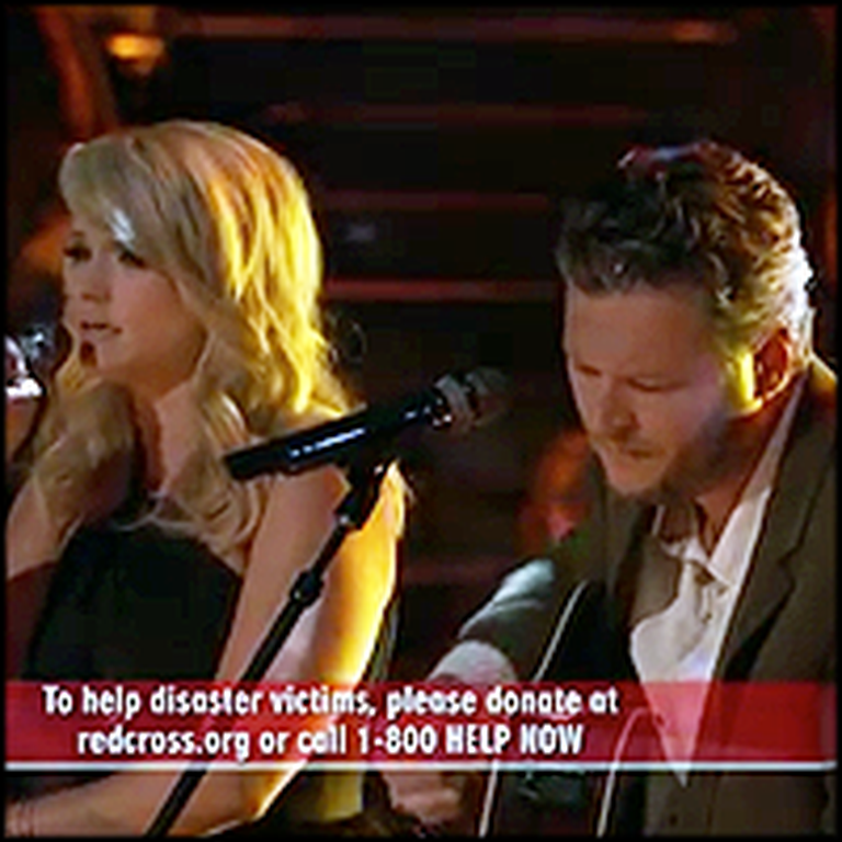 Oklahomans Miranda Lambert and Blake Shelton Dedicate Performance to Tornado Victims