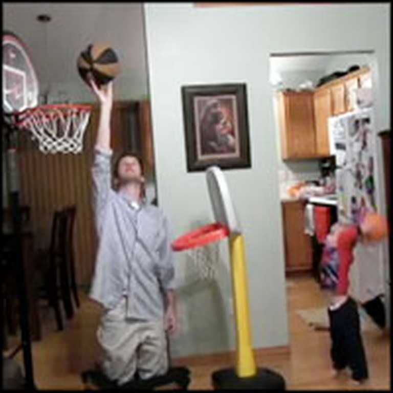 Talented Tot Performs Unbelieve Trick Shots