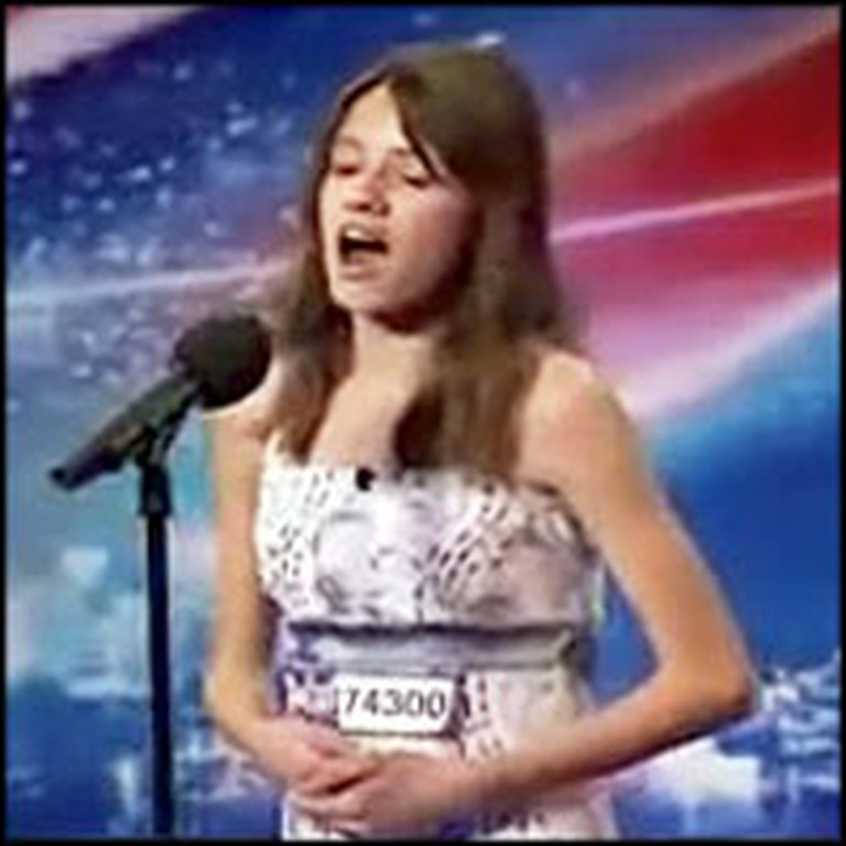 12 Year-Old Sings Opera Like an Angel
