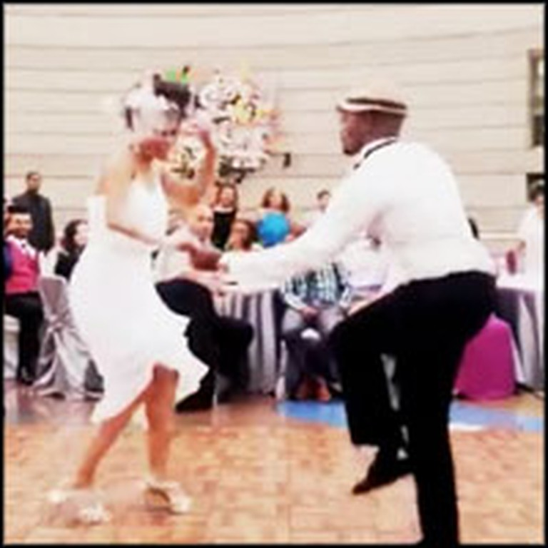Newly Wed Couple Delights Guests With Best First Dance Ever
