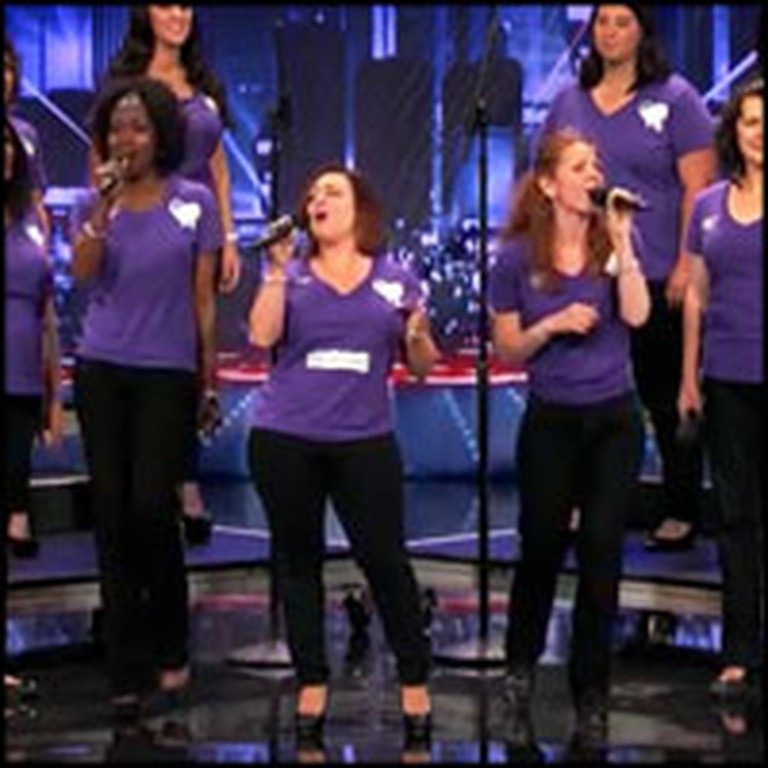 Wives of Soldiers Support US Troops With a Stunning Choir Performance