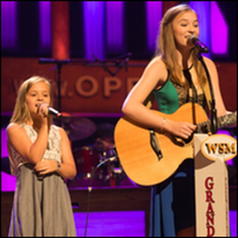 Singing Sisters Lennon and Maisy Perform a Johnny Cash Classic