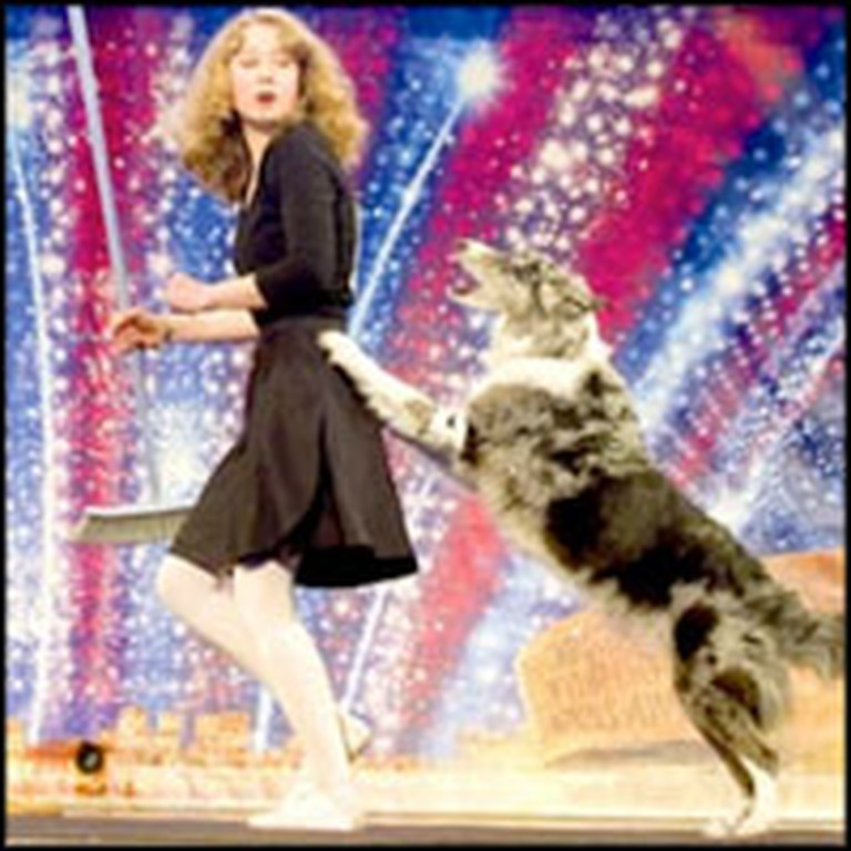 Chandi the Clever Dancing Dog Drives the Audience Wild