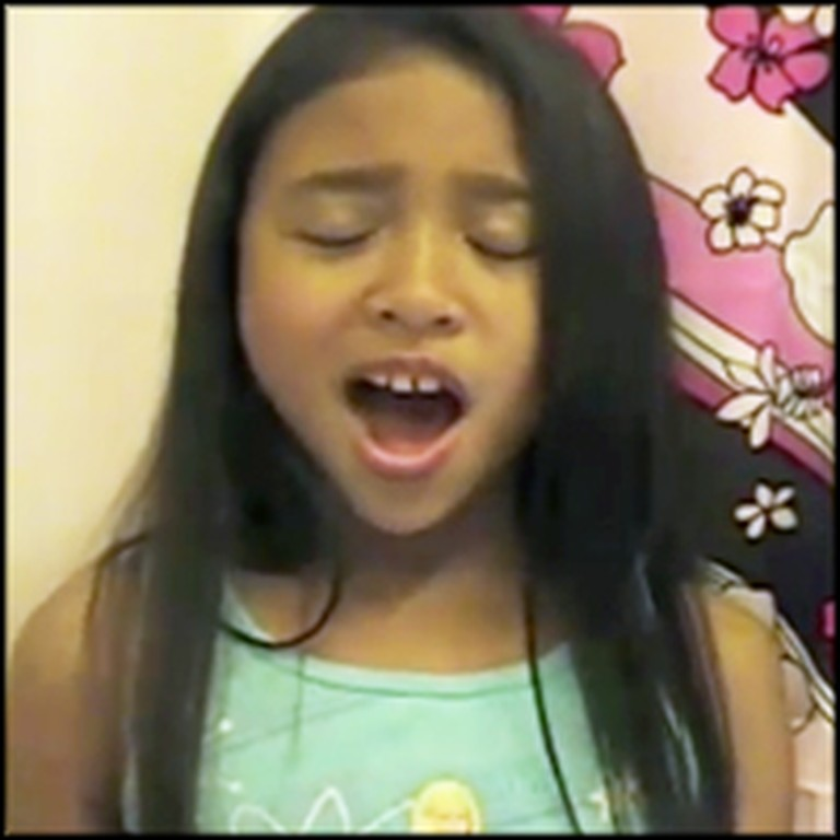 Unbelievable 10 Year-Old Sings Eye on the Sparrow