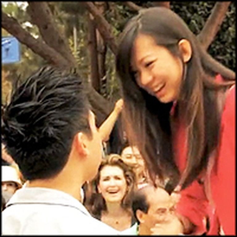 Boyfriend Plans Epic Flash Mob Proposal for His Girlfriend