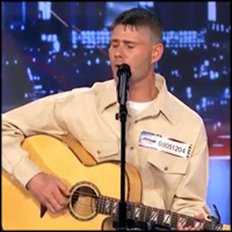 Coal Miner and Former Marine Wins Over Audience With Original Song