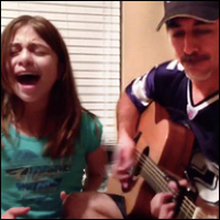 Father & Daughter Perform an Amazing Adele Duet