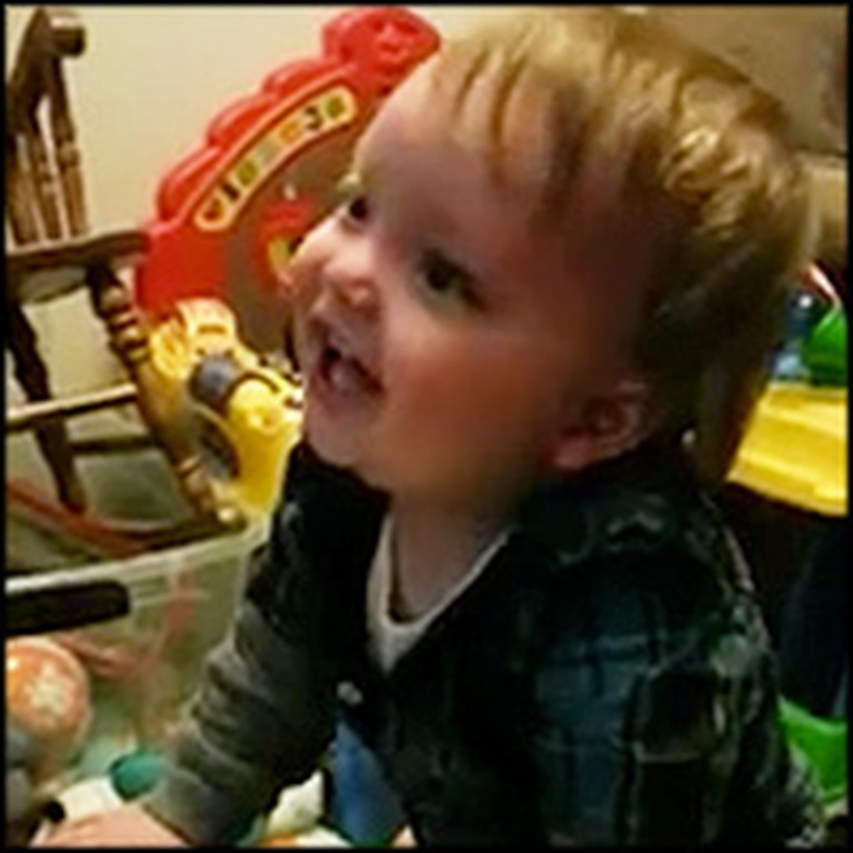 Happy Baby Laughs Uncontrollably at His Favorite Commercial