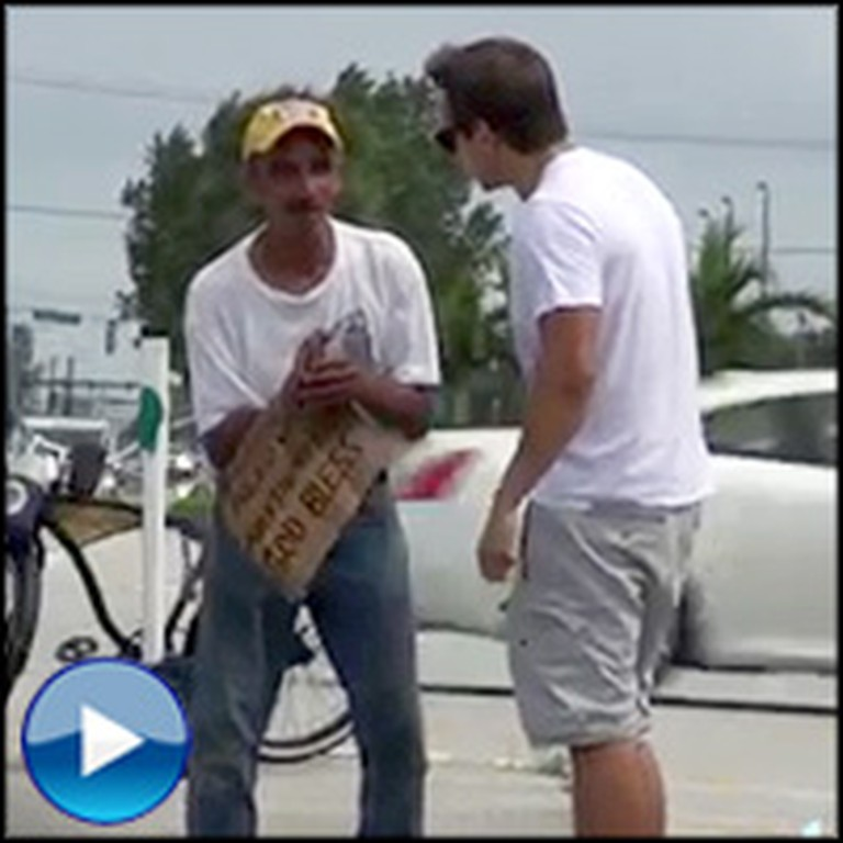 Young Strangers Give a Homeless Man a Makeover - Faith in Humanity Restored!