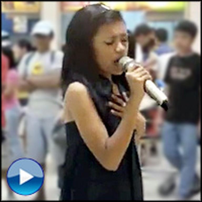 Random Girl Steps Up to Karaoke Machine and Leaves Everyone Awestruck
